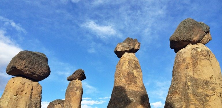 Kapadokya Rotalari Peri Bacalari Antik Yerlesimler Yeralti