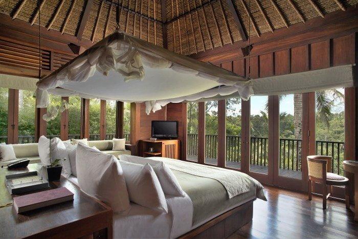 Alila Ubud - Accommodation - Valley Villa Bedroom